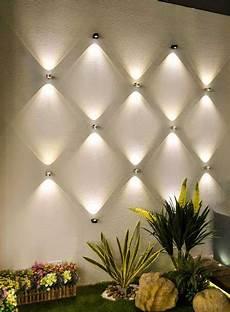 arandelas internas backyard lighting modern wall decor patio lighting