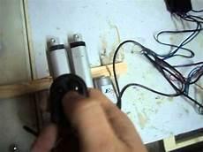 verin electrique 12v effet rec 43t contr 244 le v 233 rins 233 lectrique a distance