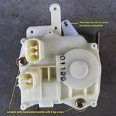 1998 Acura Tl Blend Door Actuator Replacement  How To