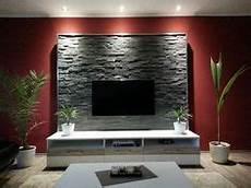 wand hinter fernseher gestalten wohnwand tv wand selbst gebaut teil 1 laminat tv wand