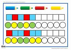 repeating shape patterns worksheets year 1 307 repeating pattern sequences teaching resources