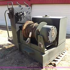 dp manufacturing hydraulic winch assembly no reserve auction wednesday may 06 2015
