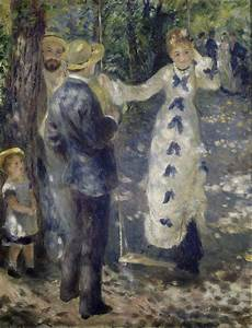 the swing renoir paintings of the swing in painting
