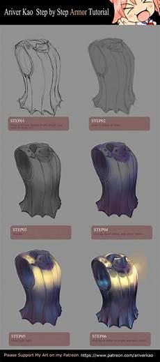 armor tutorial in 2019 digital painting tutorials digital art tutorial drawings
