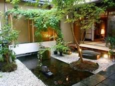 Bassin Japonais Pour Deco Minimaliste De Jardin Zen