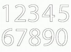 25 Unique Number Stencils Ideas On Number