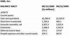 nike balance sheet photo sharing