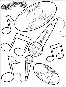 bring the music coloring page crayola com