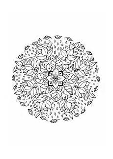 Malvorlagen Mandalas Blumen Mandala Blumen Druckbare Malvorlagen