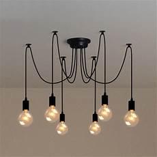 luminaire 3 les e27 lustre le de 6 t 234 te douille suspendu plafonnier luminaire sans oule achat vente