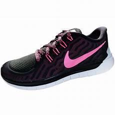nike free 5 0 damen running sneaker schwarz pink 724383 006