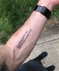 simple but meaningful tattoo