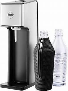 My Sodapop Wassersprudler Silber Schwarz Inkl 2