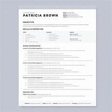 clean resume template pkg resume templates creative