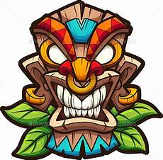 Tiki Mask By Memoangeles Graphicriver