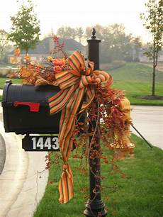 Decorations For Mailbox by Favorite Fall Mailbox Decorating Ideas Decor To Adore