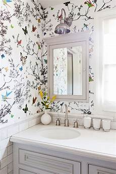 Small Bathroom Wallpaper Ideas This Insanely Chic L A Home Will Give You Goosebumps