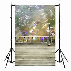 3x5ft Daylight Cloth Photography Backdrop by 3x5ft Cloth Colorful Bubbles Floor Studio Backdrop