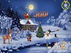 christmas evening free christmas screensaver fullscreensavers com