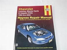 hayes auto repair manual 2005 chevrolet monte carlo spare parts catalogs haynes repair manual chevrolet lumina monte carlo and impala fwd 1995 thru 2005 9781563926327