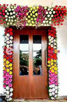 beautiful gerbera floral decor for 1 bhk for housewarming