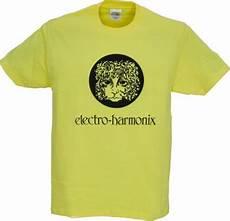 electro harmonix shirt electro harmonix logo t shirt with choice of colours