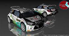 skin car design citroen ds3 r5 sergio vallejo diego