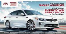 Kia Sweepstakes by Horne Kia Quiz Sweepstakes Win A Certificate To Fatcats