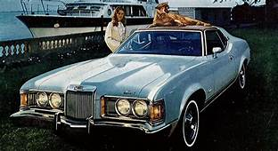 Just A Car Guy Mercury Cougar Ads From 1971 73 Ugly