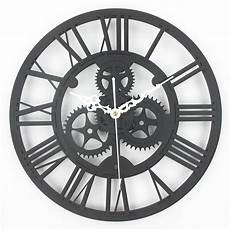 Wholesale Large Antique Wall Clock 3d Acrylic Gear Wall