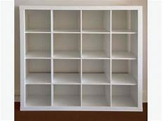 Ikea Expedit 4x4 Cube With 9 Lekman Boxes Oak Bay