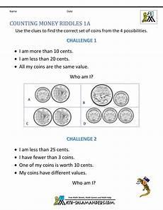 money riddle worksheets 2303 australian money worksheets