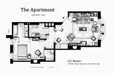 psycho house floor plans floorplan of c c baxter apartment from the movie quot the