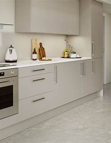 Homebase Kitchen Furniture Modern Kitchen With Grey Gloss Doors Granite Worktop And