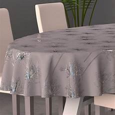 Nappe Ovale L230 Cm Gris Nappe De Table Eminza