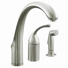fix kohler kitchen faucet home decor tempting kohler kitchen faucet forte single handle standard faucet with side repair