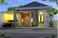 Desain Rumah Minimalis Terbaru 1 Lantai Tak Depan