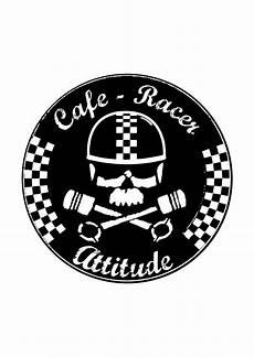 Cafe Racer Bike Logo