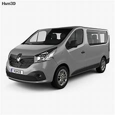 renault trafic passenger 2014 3d model vehicles on hum3d