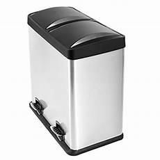 Sensor Mülleimer 60 L - mari home 60 liter fingerabdruck beweis edelstahl
