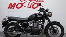 Triumph Bonneville T100 Black Edition Achat Vente Reprise