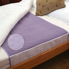 washable absorbent bed pad incontinence bed protection