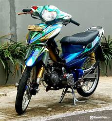 Modifikasi Motor Revo Absolute Sederhana by Modifikasi Honda Revo 110 Fit Absolute Drag Sederhana Tapi