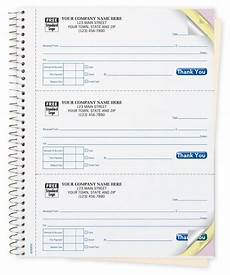 cash receipt book customized custom carbonless printing designsnprint