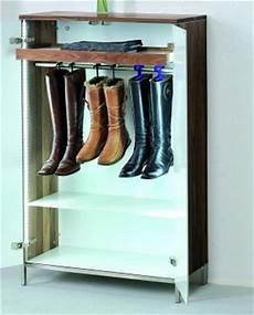 Schuhschrank Für Stiefel - eleganter schuhschrank aus hochwertigem nussbaum