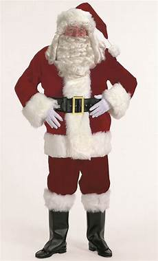habit du pere noel costume de p 232 re no 235 l velours luxe v10075