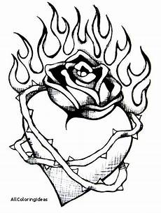 with flames pages free printable coloring pages