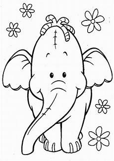 Malvorlage Kleiner Elefant Elefanten Ausmalbilder 16 Ausmalbilder