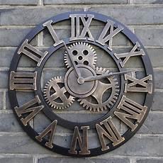 home design skeleton wall clock extra large cm metal