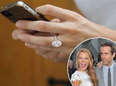 ryan reynolds splashed 2m on blake lively s wedding ring says jeweler exclusive celebrity